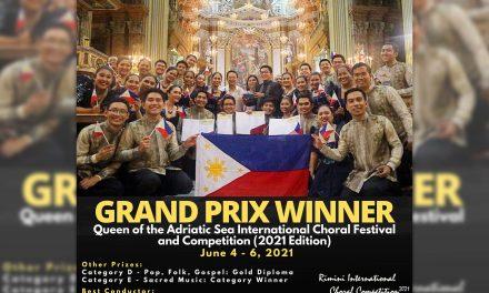 Church choir Kammerchor Manila wins world virtual competition