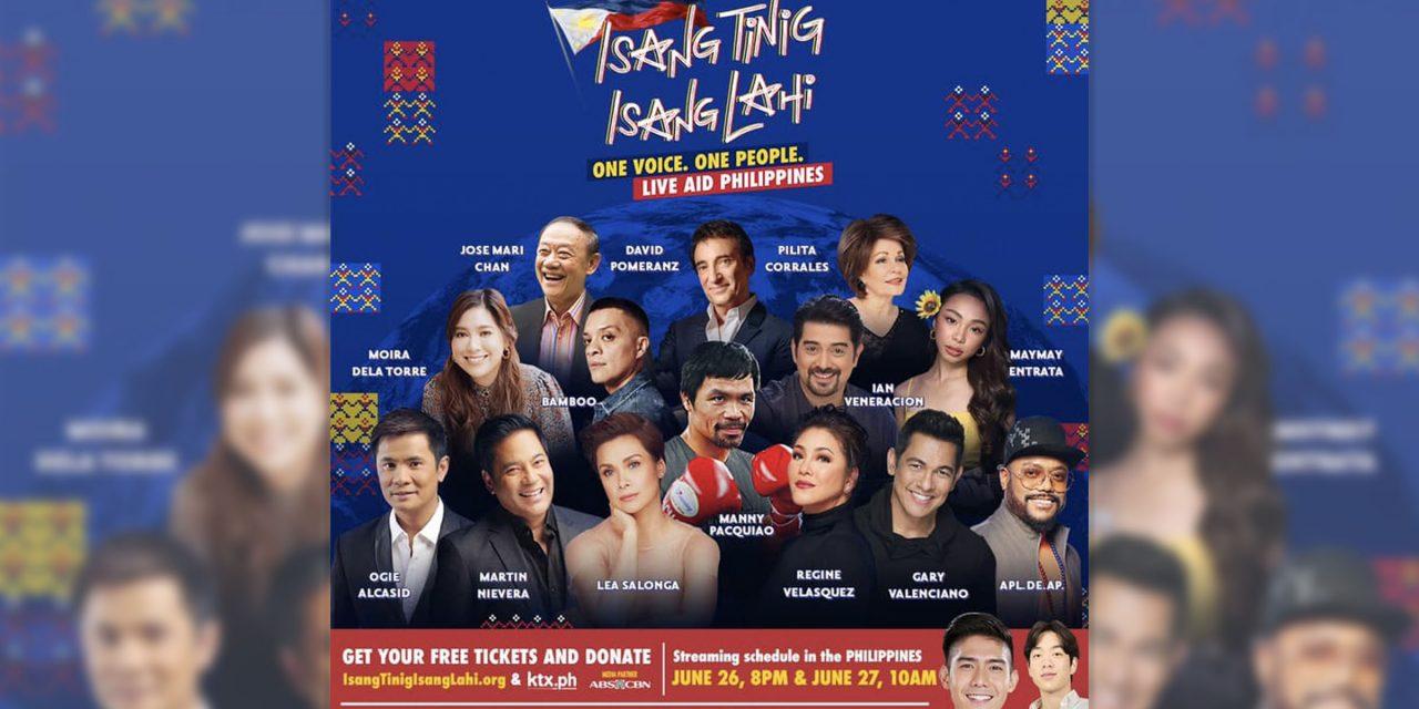 'Isang Tinig, Isang Lahi': A virtual charity   concert to aid Caritas PH's Covid-19 response