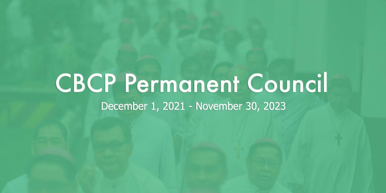 New CBCP Permanent Council
