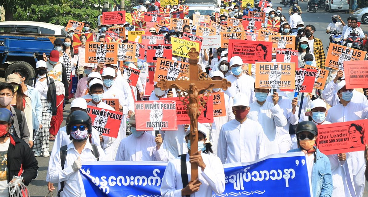 Churches to toll bells in solidarity with Myanmar