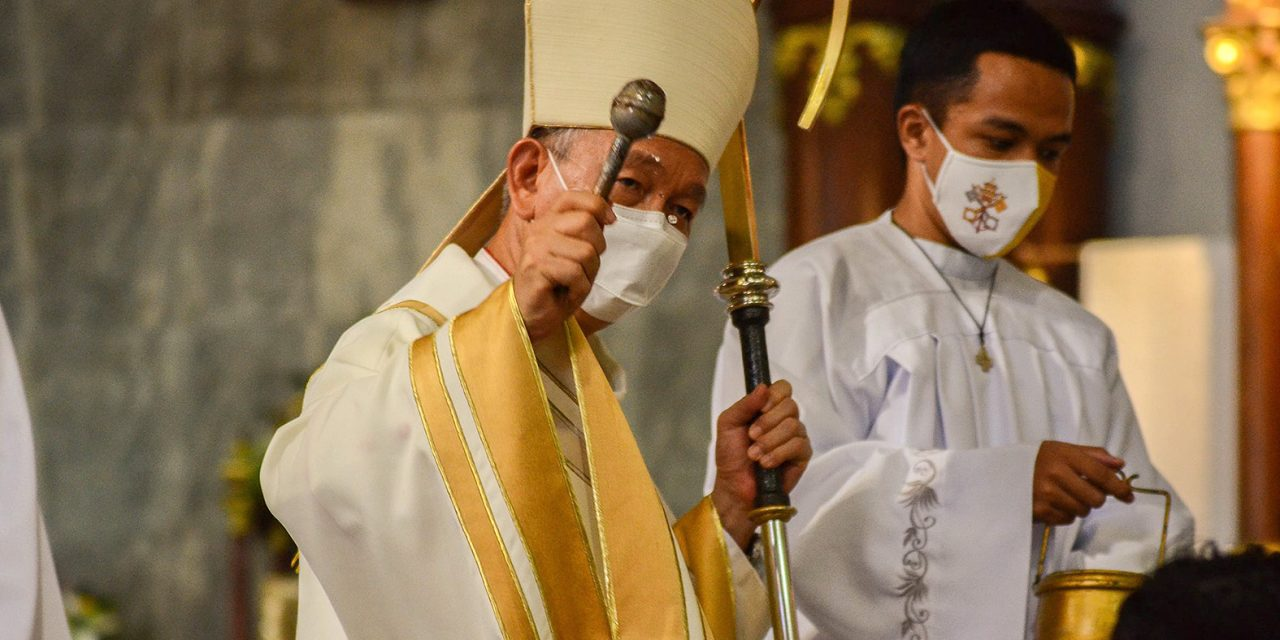 Look at Jesus' leadership style, bishop tells voters