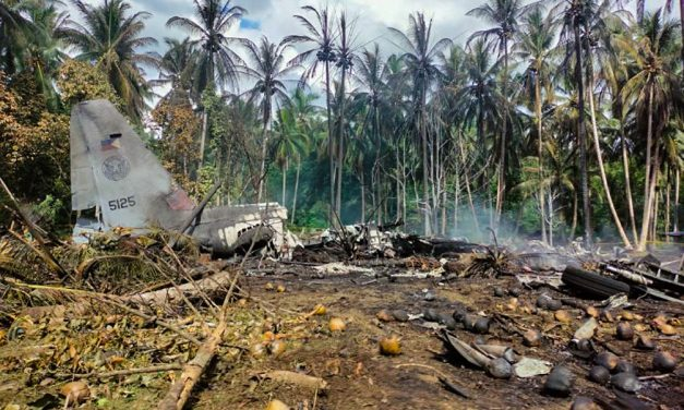 Military bishop offers prayers for C-130 crash victims