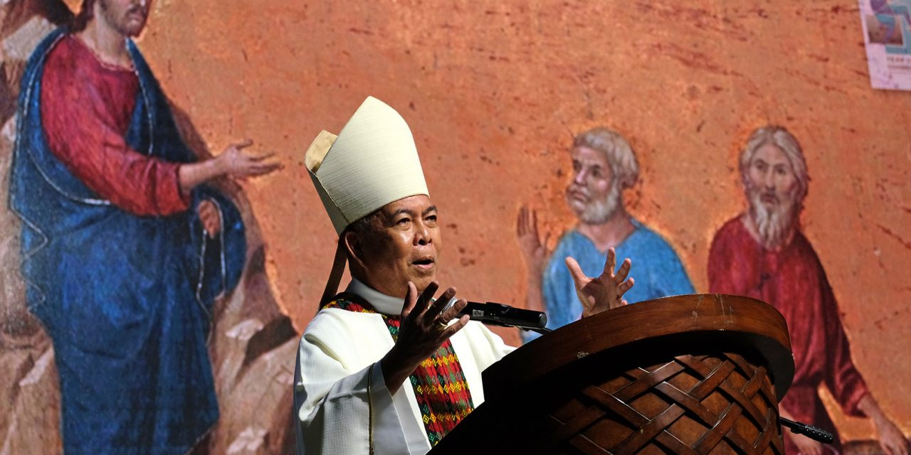 CBCP President's message for the 122nd bishops' plenary assembly