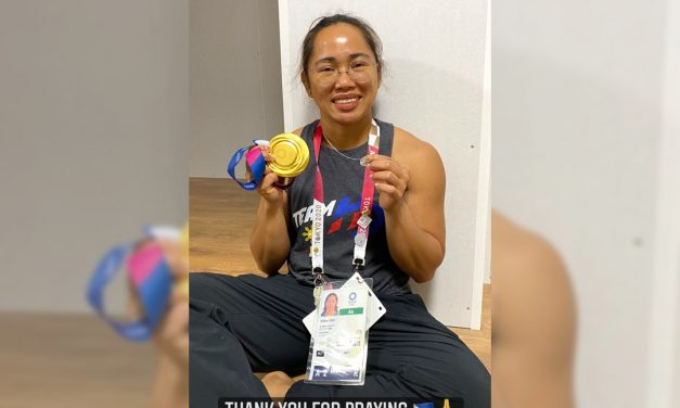'Thank you for praying:' Hidilyn Diaz reveals story behind 'miraculous medal'