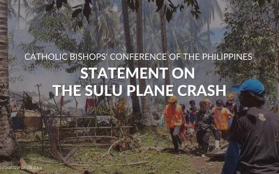 CBCP statement on the Sulu plane crash