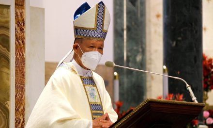 'Protect environment like how we protect ourselves from Covid-19' — Cardinal Advincula