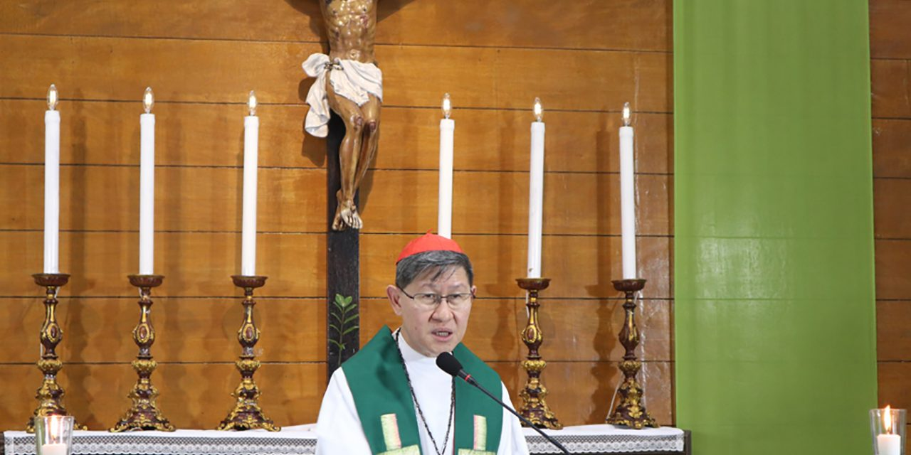Justice and generosity are inseparable— Cardinal Tagle