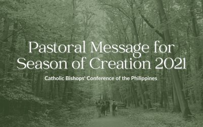 Journeying together this Season of Creation 2021 towards renewing the Oikos of God