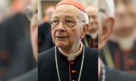 Cardinal Eduardo Martínez Somalo, retired camerlengo, dies at 94