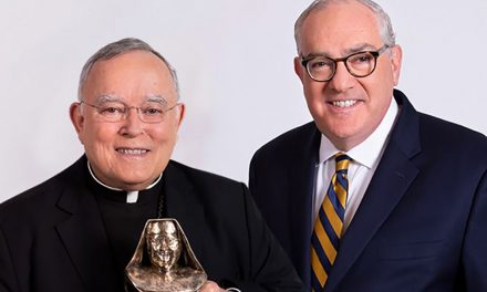 Archbishop Chaput honored with first annual Mother Angelica Award