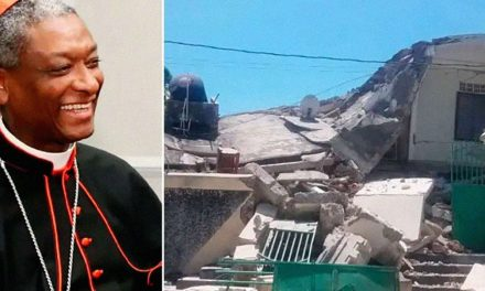 Cardinal injured, priest dead after earthquake in Haiti