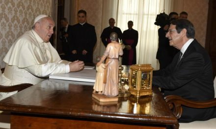 Pope Francis will visit Cyprus in December, says local official
