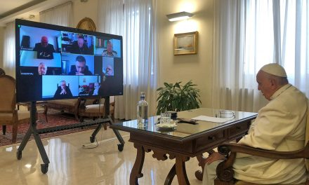 Cardinals' council discusses synod on synodality with Pope Francis