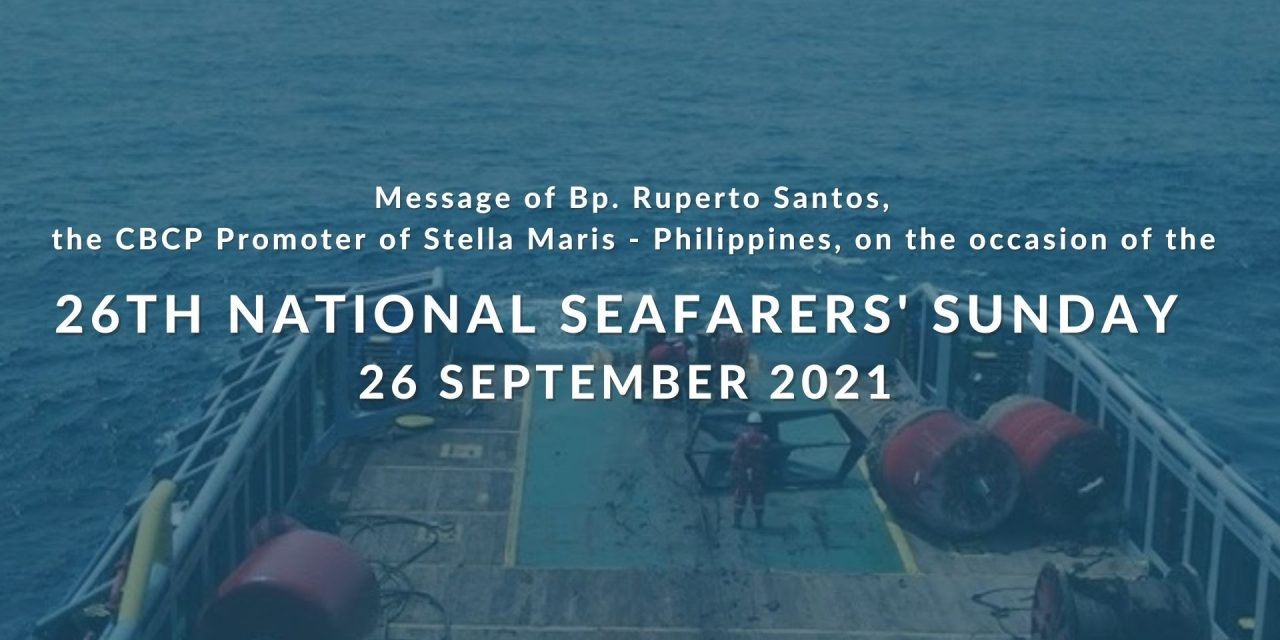 Filipino seafarers: A gift to the world and to the Church