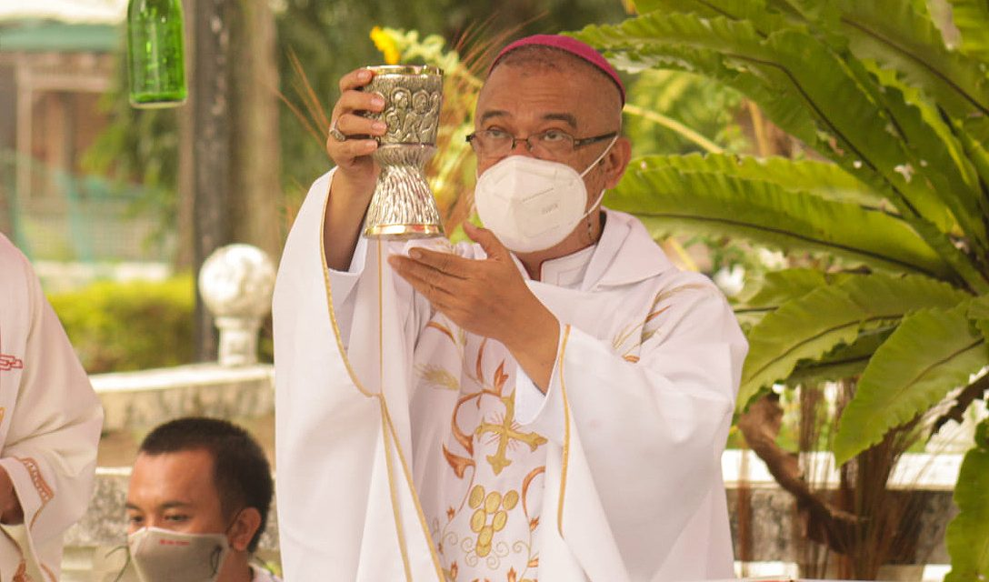 Bishop Alminaza contracts Covid-19 anew