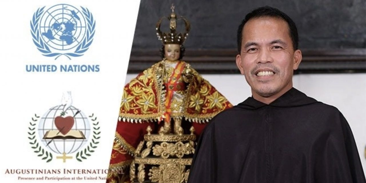 Filipino Augustinian is Order's first Asian rep to United Nations