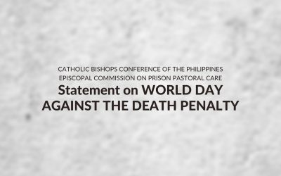Statement on World Day Against Death Penalty