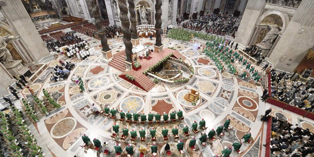 Pope Francis launches 2-year synodal path with call to 'encounter, listen, and discern'