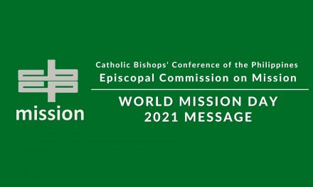 World Mission Day 2021 message