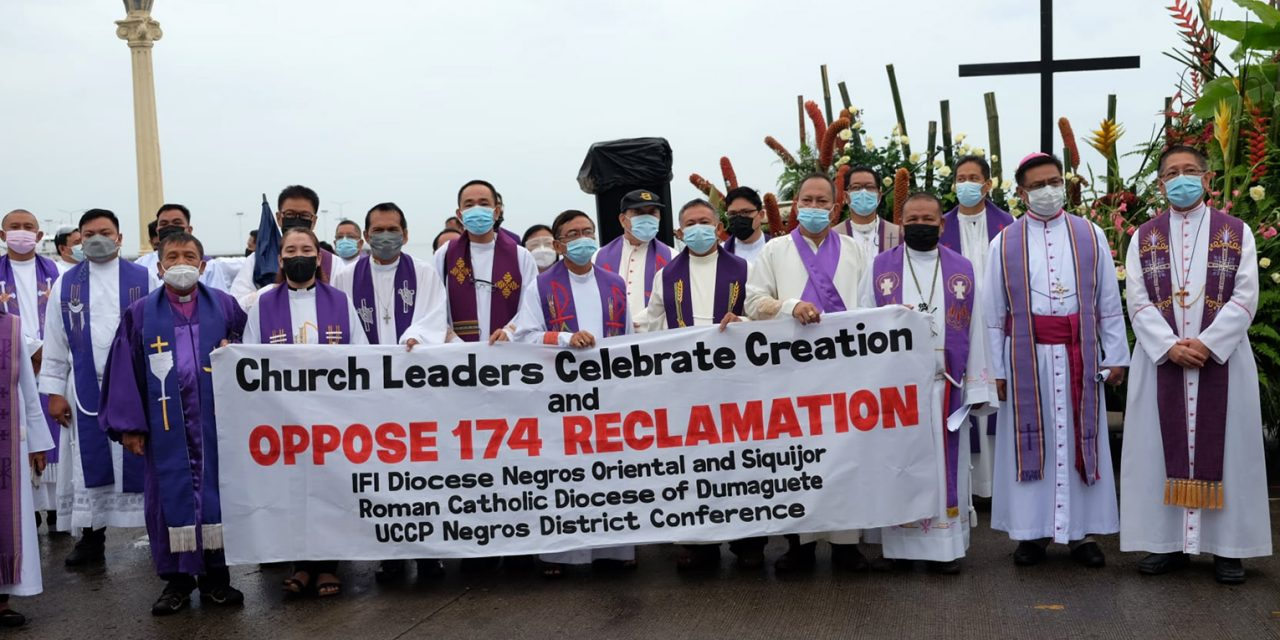Catholics, Protestants in Negros unite against proposed reclamation project