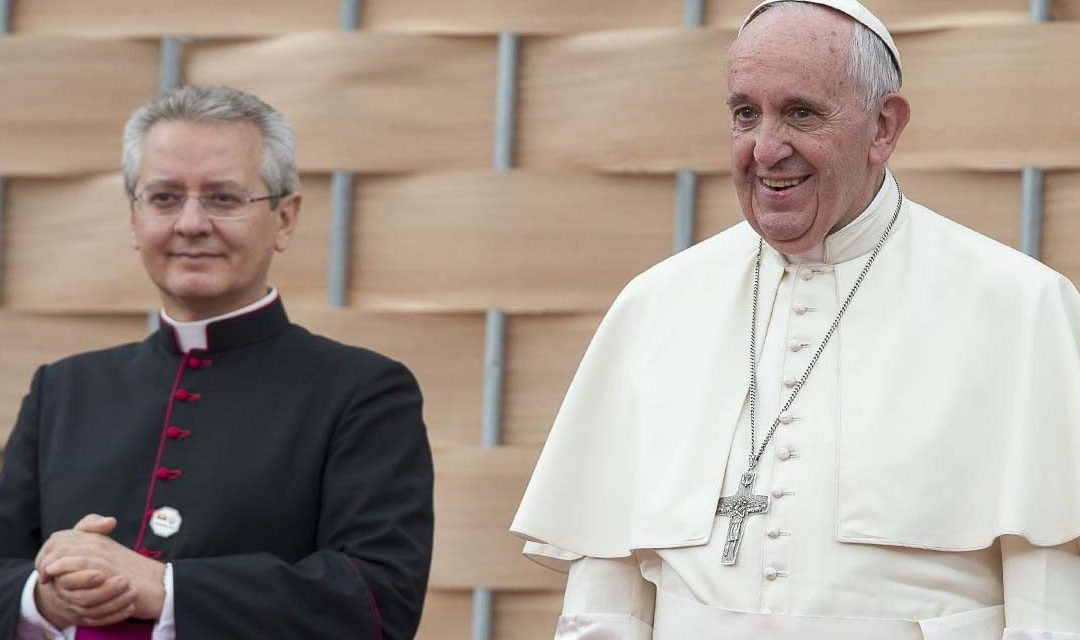 Pope Francis names master of ceremonies for Vatican papal liturgies